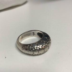 John Hardy dome ring sz 7